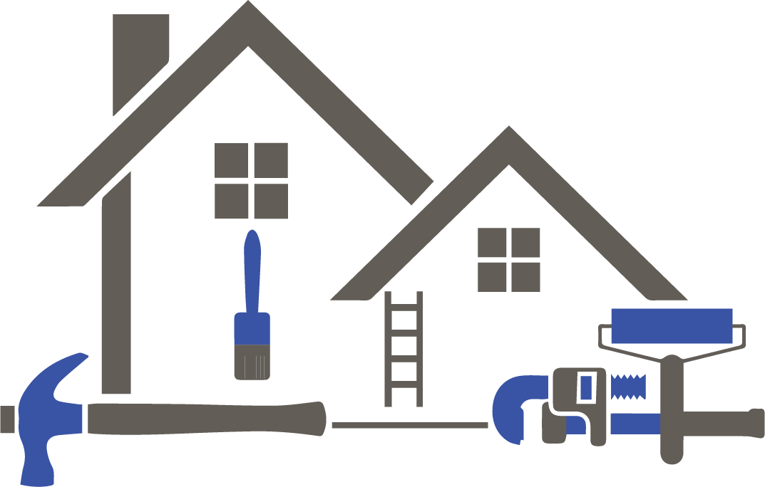 Vector roof house frame. Toilet clipart renovation pencil