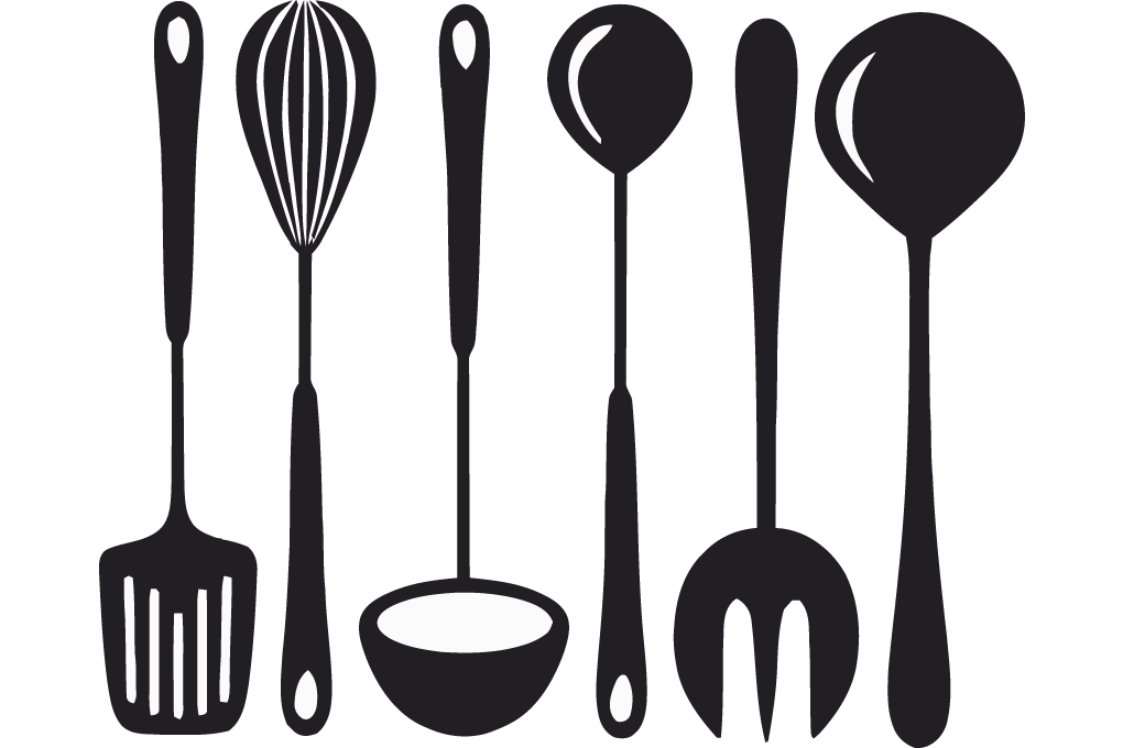 Utensils vector cook. Collection of cooking