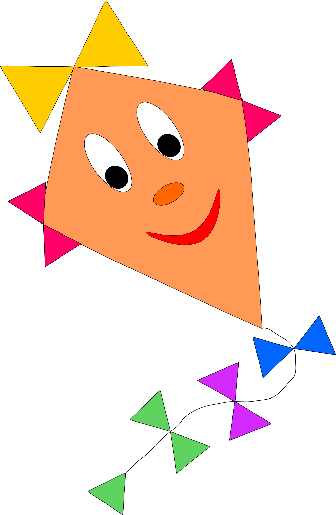 kite clipart png