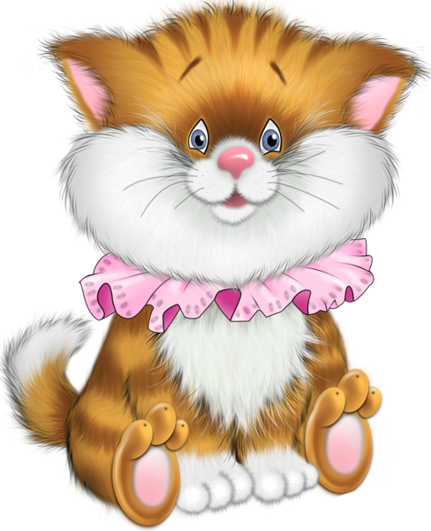 cartoon kitten png