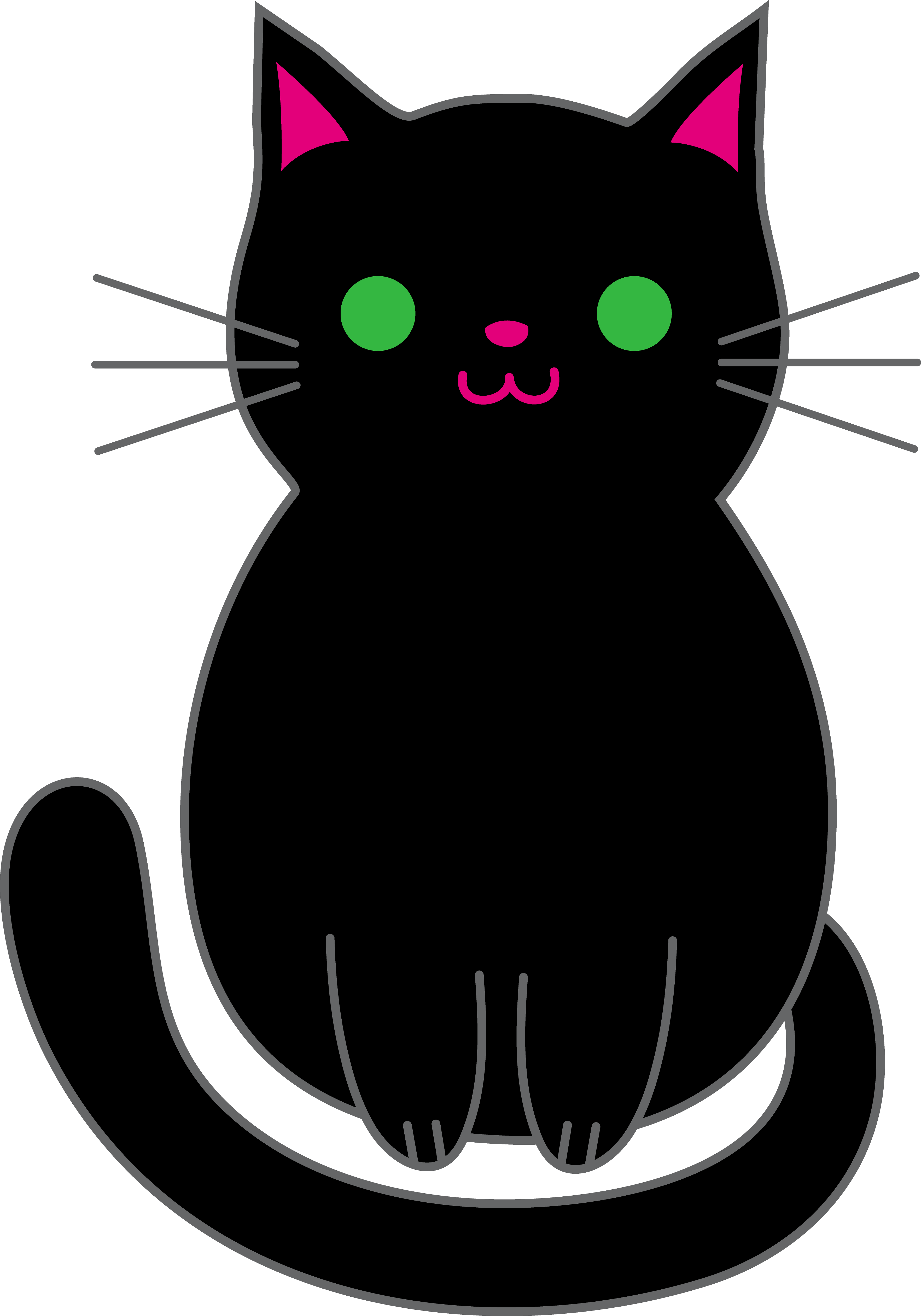 black kitten png