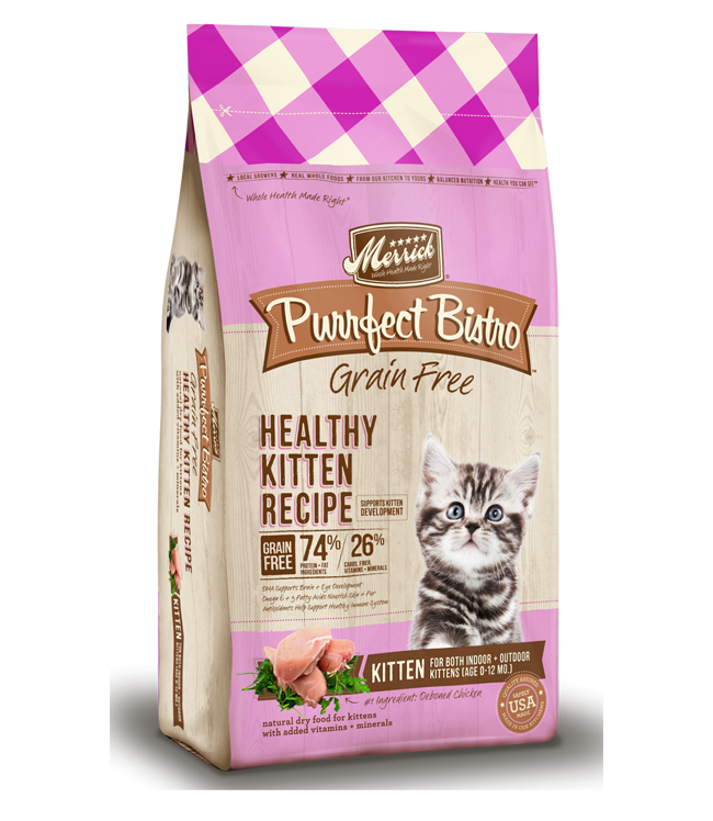 Kittens transparent food. Merrick purrfect bistro recipes