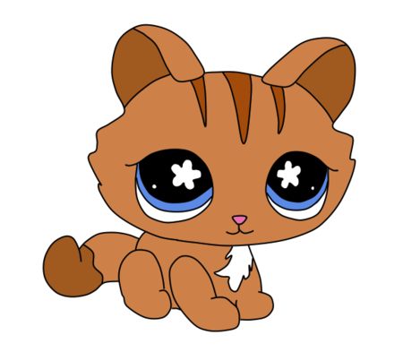 Kittens transparent lps. Kitten drawings for download