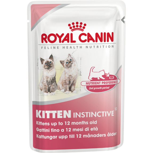 Kittens transparent royal. Canin kitten instinctive cat