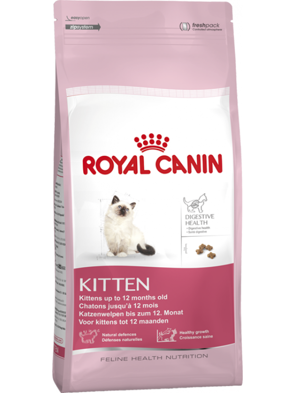 Kittens transparent royal. Canin kitten kg