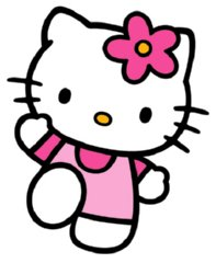 Kitty clipart. Hello panda free images