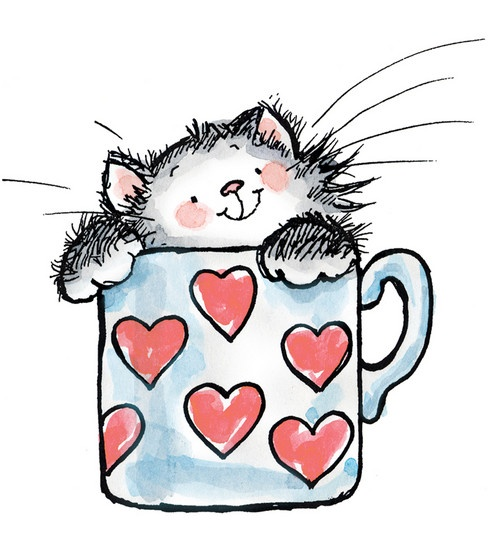 Kitty clipart barn cat. Valentine at getdrawings com