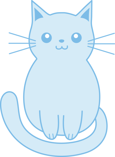 Kitty clipart middle. Kitten cat miscellaneous on