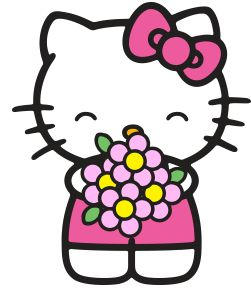 Kitty clipart printable. Free hello at getdrawings