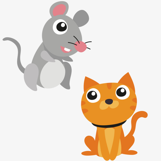 Kitty clipart rat. Rats and cats mouse