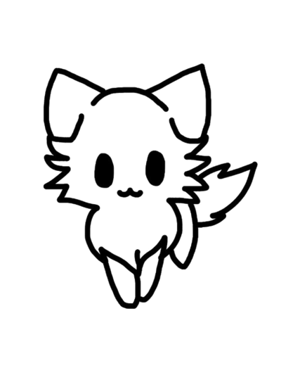 Kitty transparent drawing. Pin by xxblairxx on