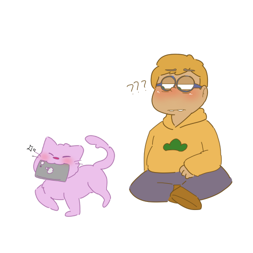Kitty transparent esp. Also as a human