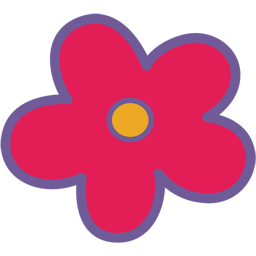 Kitty transparent flower. Javascript fade my hello