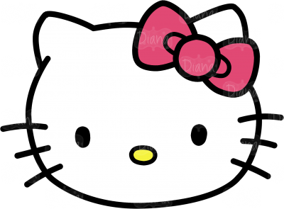 Kitty transparent ico. Hello head clipart pictures