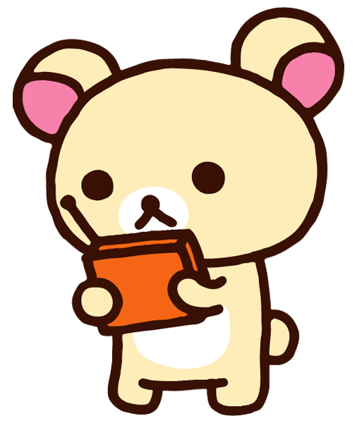 Kitty transparent rilakkuma. Emoticon animation hello transprent