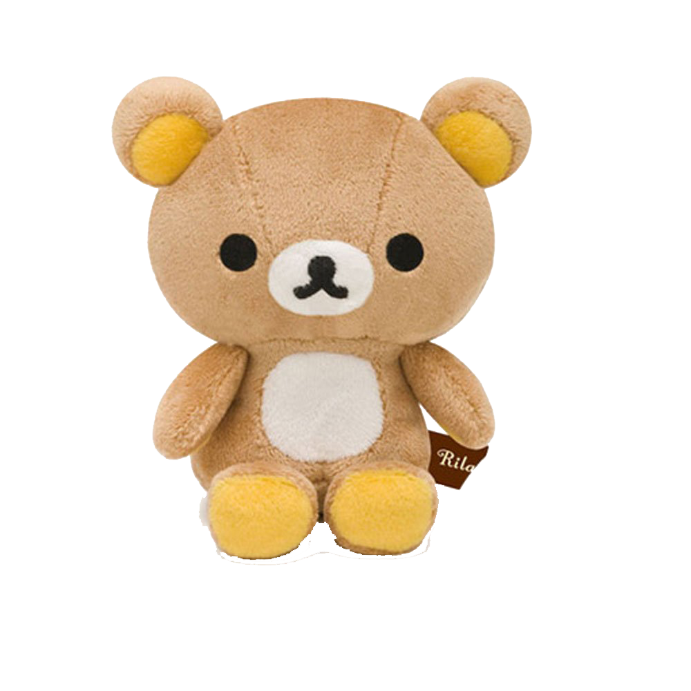 Kitty transparent rilakkuma. Bear hello stuffed toy