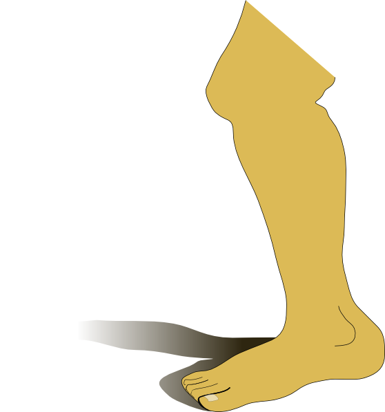 cartoon leg png