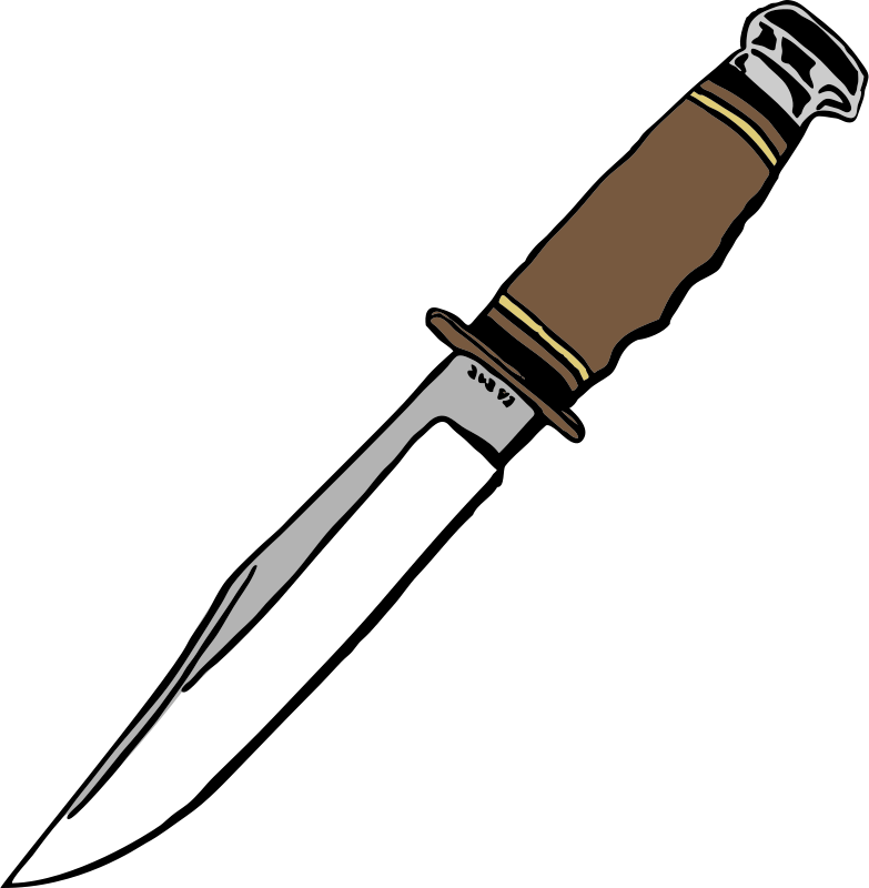 Blade clipart switch blade. Knife clip art free