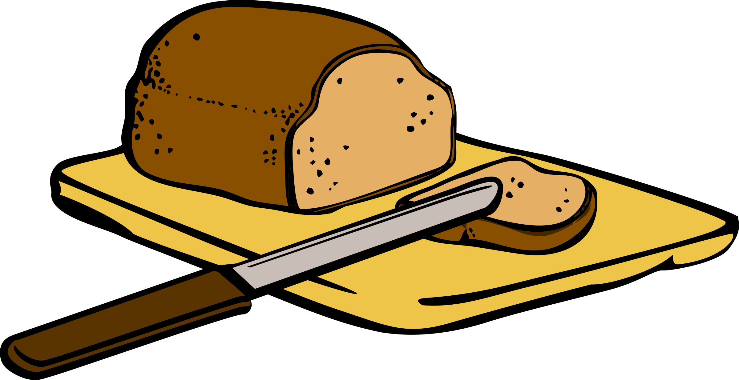 Bread clipart png. Knife food pencil and