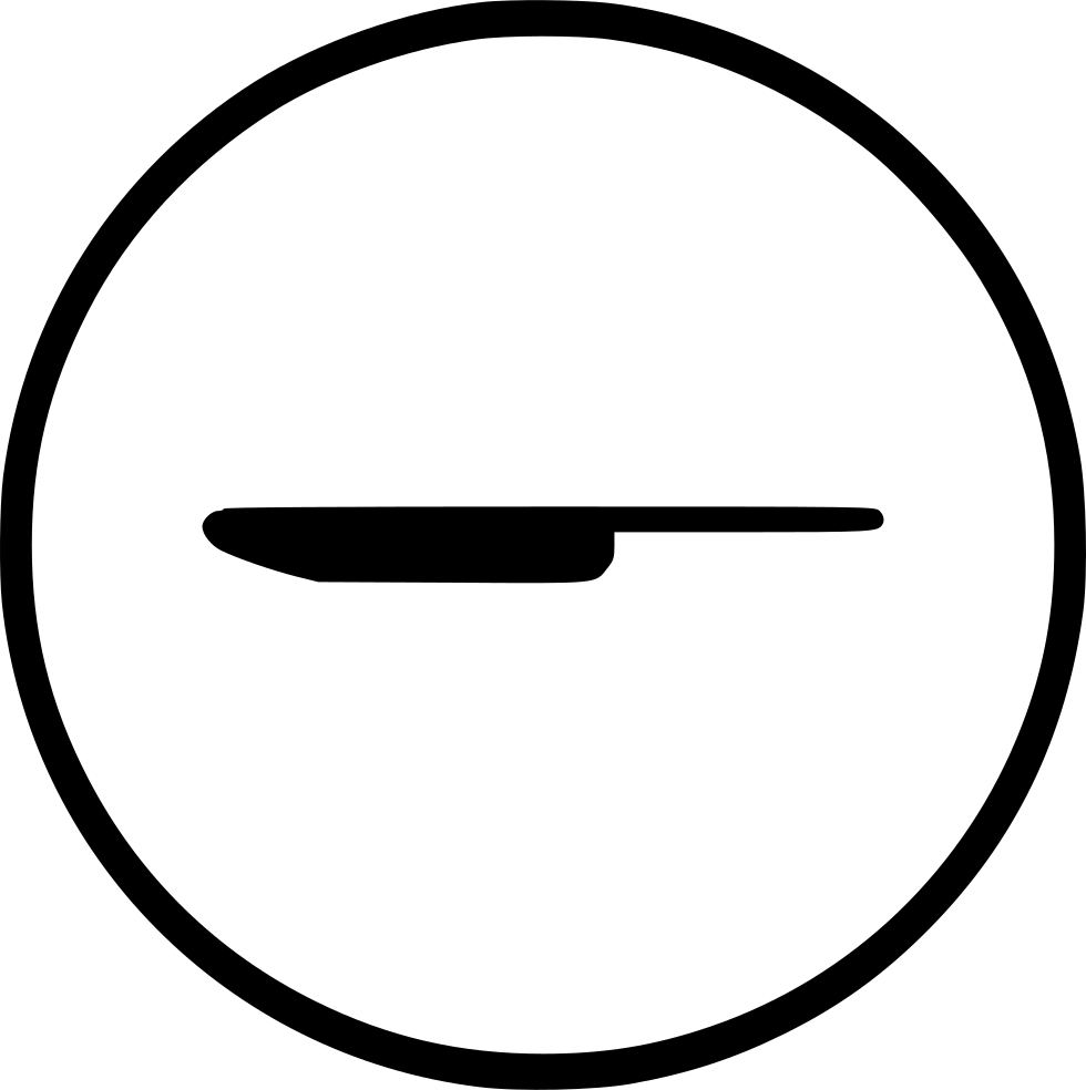 Knife svg emoticon. Kitchen dining eat cutlery