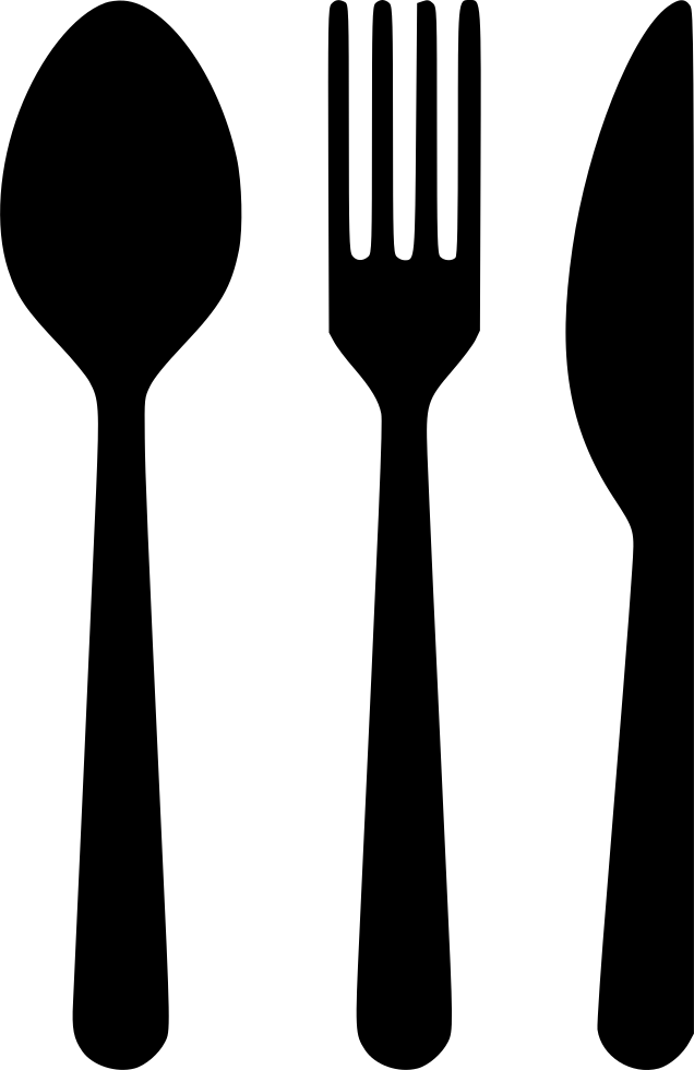 Knife svg fork spoon. Png icon free download