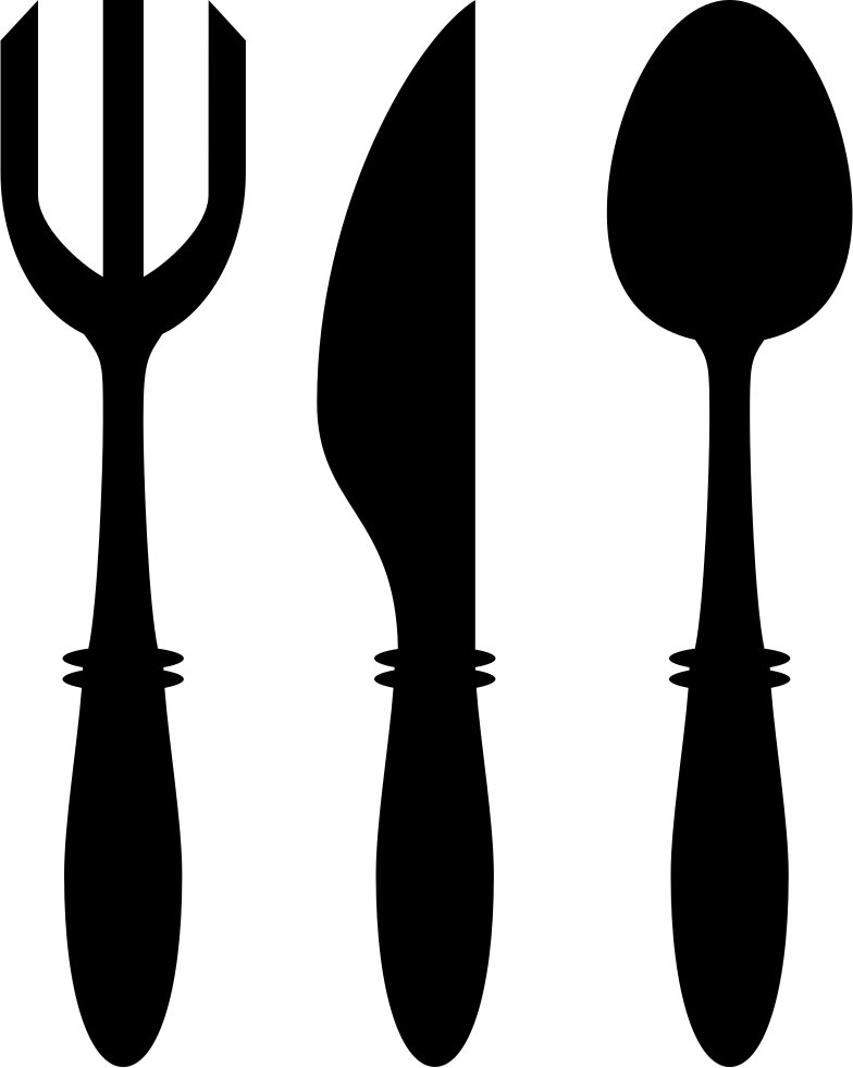 Knife svg fork spoon. And utensils png icon