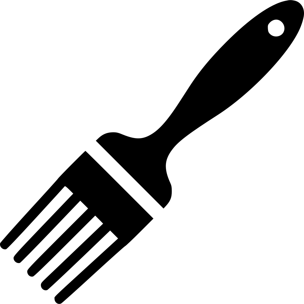 Pastry brush cooking png. Knife svg kitchen clip art free stock