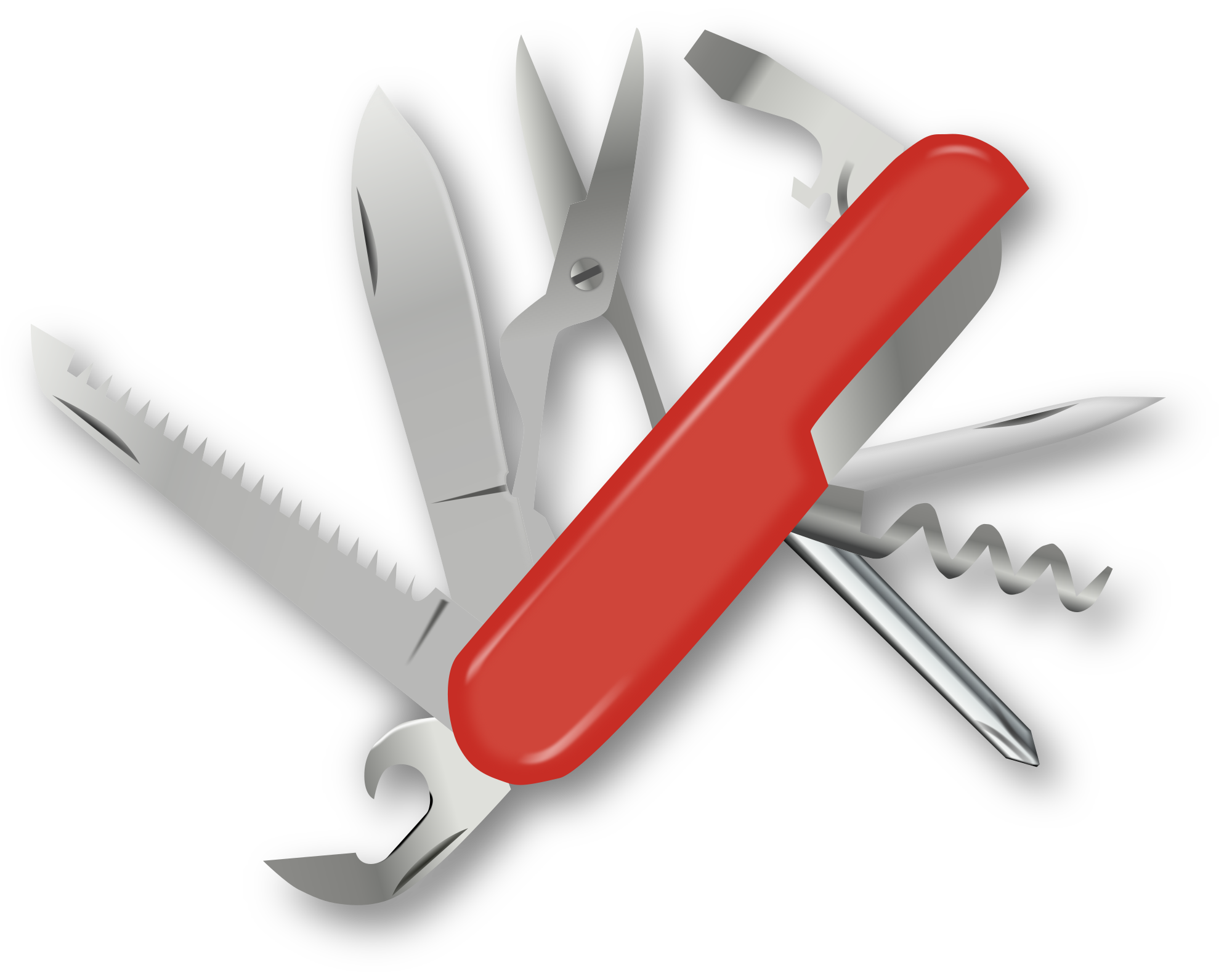 Knife svg swiss army. File wikimedia commons open