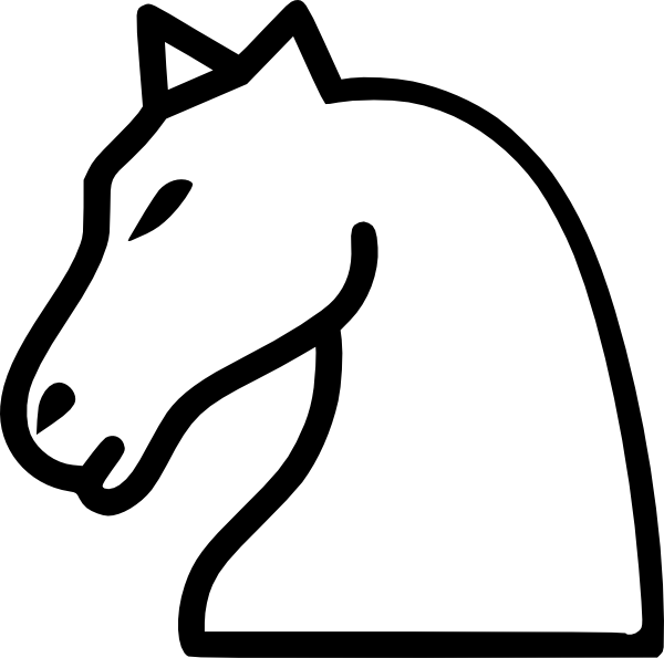 Knight chess piece png. Clip art at clker