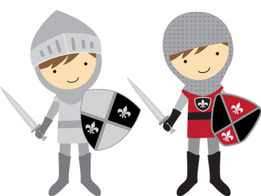 These would be adorable. Knight clipart download