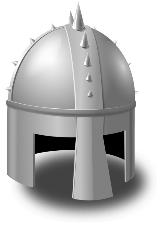 Helm vector crusader. Middle ages knight combat