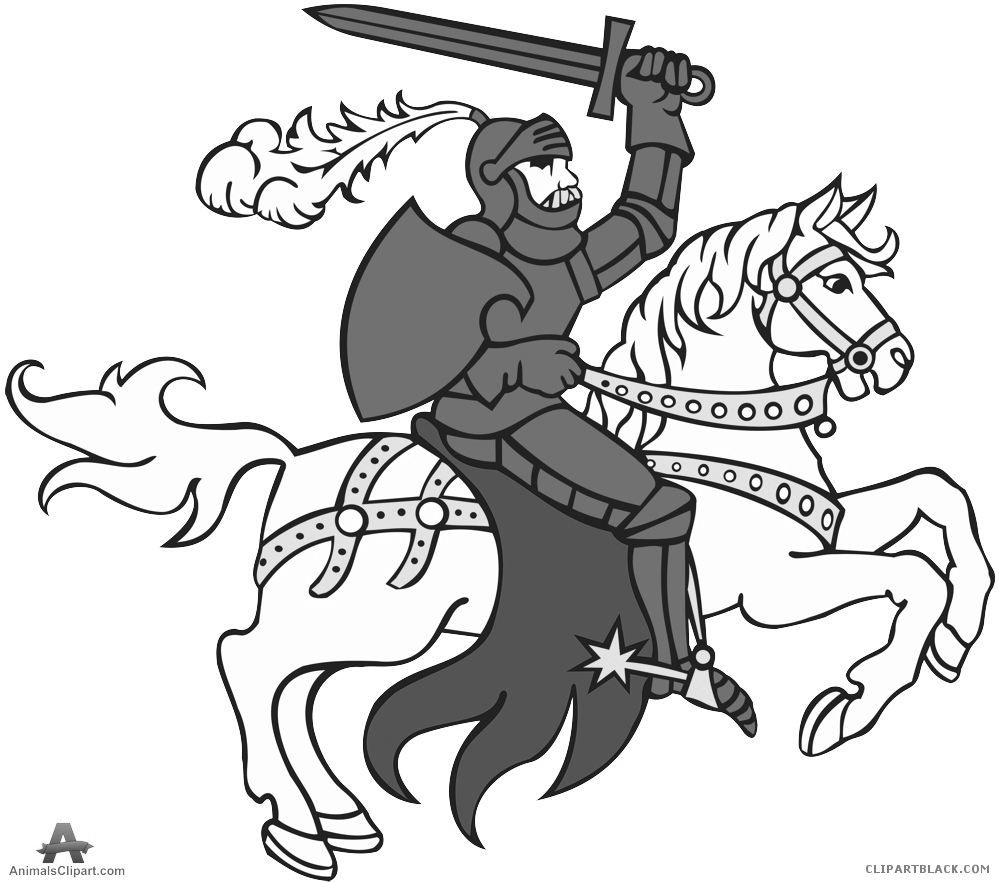 Knight clipart horse clipart. On a clipartblack com