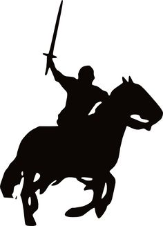 Knight clipart horse clipart. On pinterest medieval and