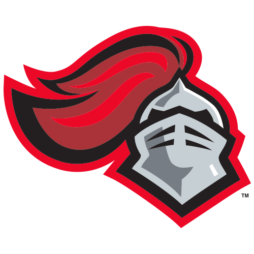 Transparent knight head. Logo rutgers university scarlet
