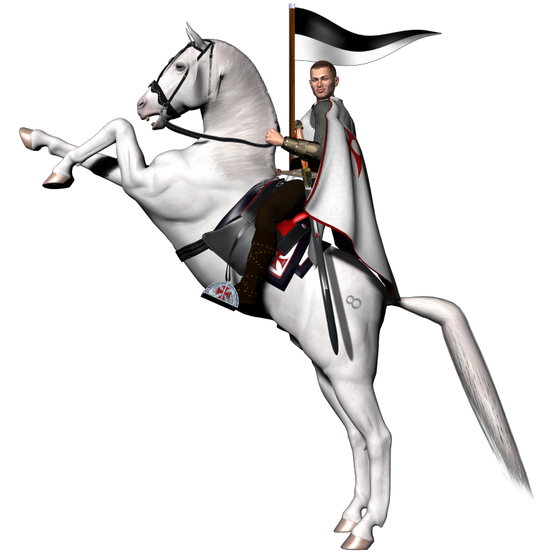 Knight on horse png. Knights templar graphics lodge