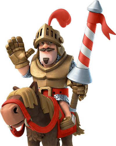 Knight png clash royale. Red prince transparent stickpng