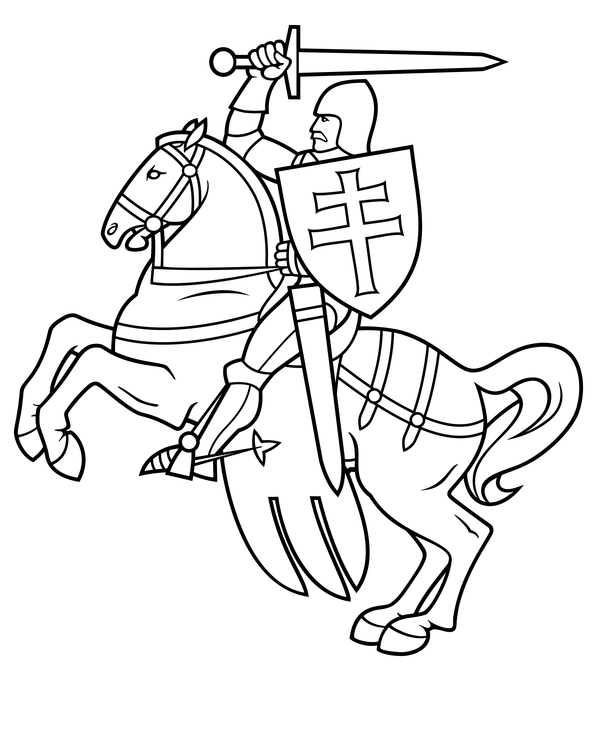 Knight svg. File belarus wikimedia commons