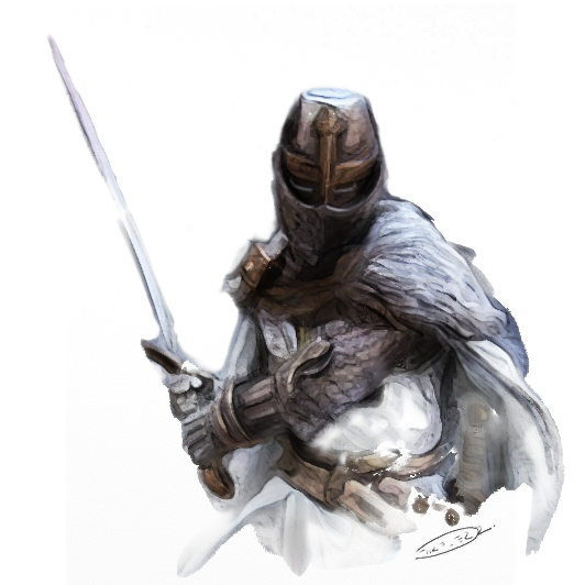 Knight with sword png. On behance