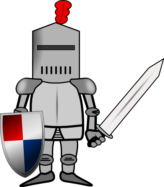Net clipart medieval. Free knight pixels clip