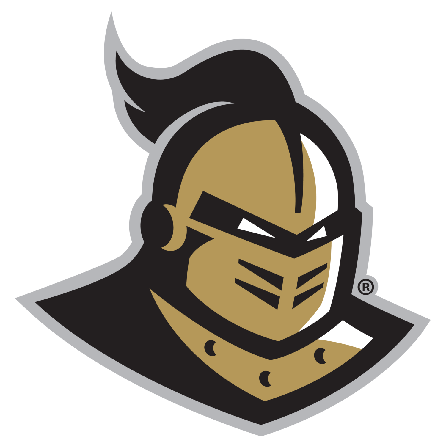 Free logo download clip. Transparent knight head png black and white download