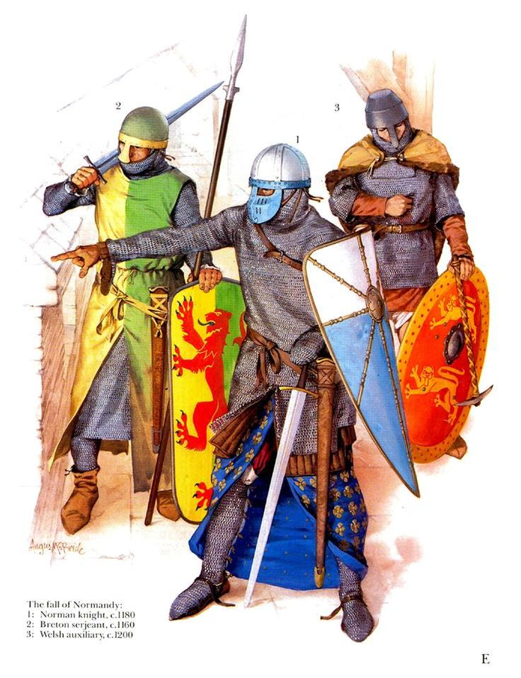 knights clipart norman knight