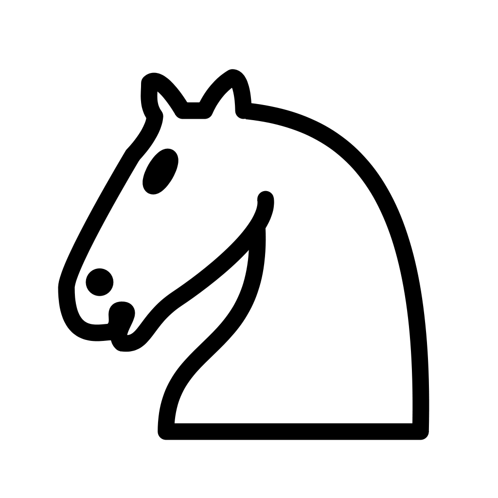 Knights vector horse transparent. File chess nlt svg