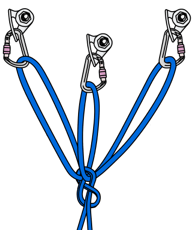 Drawing knots eight. The equalizing figure knot