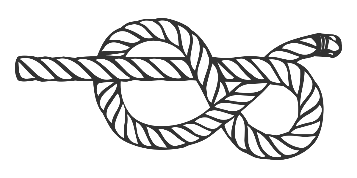 Loop drawing rope twist. Figure eight knot wikipedia