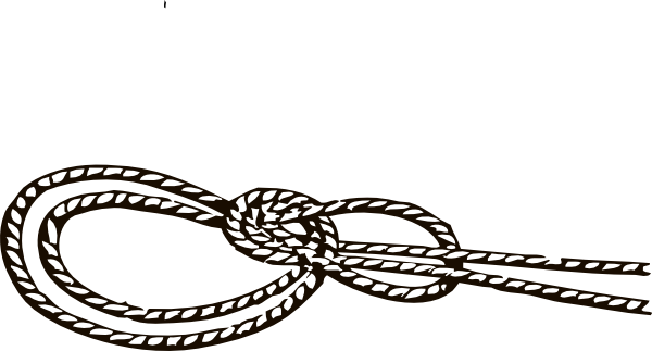 Laces clipart knot. Rope clip art library