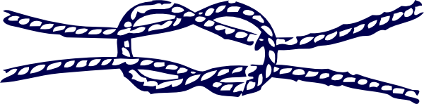 Knot clipart piece rope. Nautical clip art at