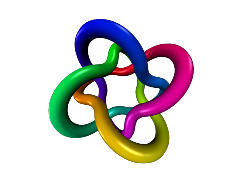 Knot clipart rainbow. Stills and the homotopy