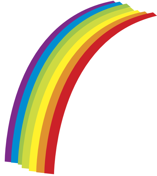 Knot clipart rainbow. Free cartoon images download