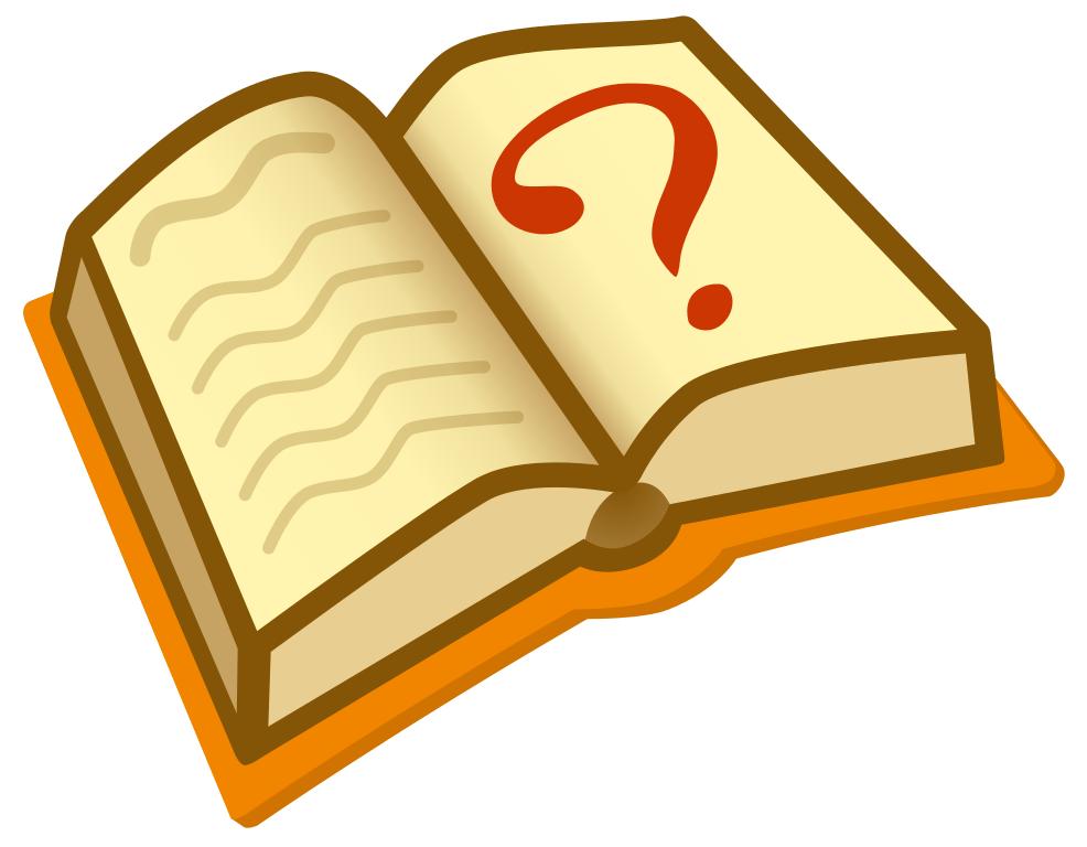 Knowledge clipart encyclopedia. File question book new