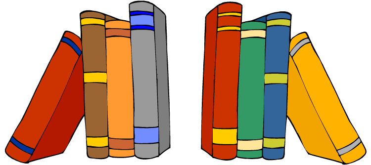 Knowledge clipart finding. Awesome library book clip